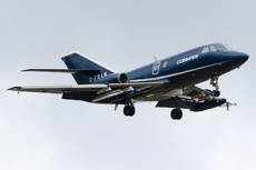 Aircraft Photo of G-FRAW | Dassault Falcon 20ECM | FRA Aviation | AirHistory.net #145939