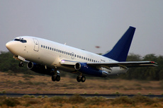 Aircraft Photo of EX-048 | Boeing 737-2T5/Adv | Phoenix Aviation | AirHistory.net