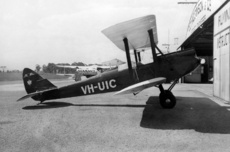 Aircraft Photo of VH-UIC | De Havilland D.H. 60G Gipsy Moth | Brisbane Flying School | AirHistory.net