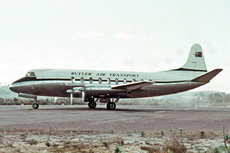Aircraft Photo of VH-BAT | Vickers 747 Viscount | Butler Air Transport | AirHistory.net