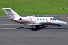 Aircraft Photo of PH-SOL | Cessna 525 CitationJet CJ1 | Solid Air | AirHistory.net