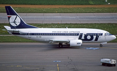 Aircraft Photo of SE-DNI | Boeing 737-59D | LOT Polish Airlines - Polskie Linie Lotnicze | AirHistory.net