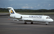 Aircraft Photo of SE-DGT | Fokker F28-4000 Fellowship | Linjeflyg | AirHistory.net