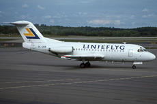 Aircraft Photo of SE-DGB | Fokker F28-1000 Fellowship | Linjeflyg | AirHistory.net