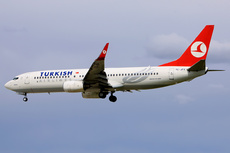 Aircraft Photo of TC-JFY | Boeing 737-8F2 | Turkish Airlines | AirHistory.net #236749