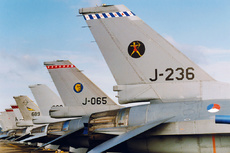 Aircraft Photo of J-236 | General Dynamics F-16A Fighting Falcon | Netherlands - Air Force | AirHistory.net