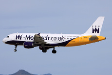 Aircraft Photo of G-OZBB | Airbus A320-212 | Monarch Airlines | AirHistory.net #246852