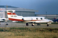 Aircraft Photo of HB-VDH | Lear Jet 24 | AirHistory.net #294344
