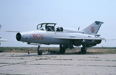 Aircraft Photo of 9526 | Mikoyan-Gurevich MiG-21UM | Romania - Air Force | AirHistory.net