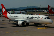 Aircraft Photo of HB-JVR | Embraer 190LR (ERJ-190-100LR) | Helvetic Airways | AirHistory.net #154324