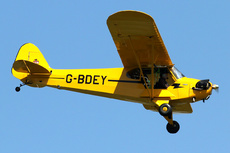 Aircraft Photo of G-BDEY | Piper J-3C-65 Cub | AirHistory.net