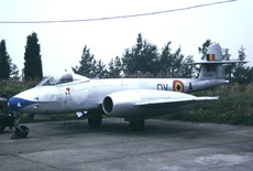 Aircraft Photo of EG-244 | Gloster Meteor F8 | Belgium - Air Force | AirHistory.net