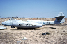 Aircraft Photo of 40 | Gloster Meteor F8 | Israel - Air Force | AirHistory.net