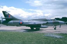 Aircraft Photo of XL619 | Hawker Hunter T7 | UK - Air Force | AirHistory.net
