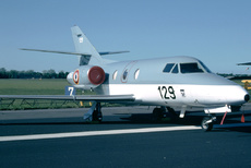 Aircraft Photo of 129 | Dassault Falcon 10MER | France - Navy | AirHistory.net