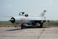 Aircraft Photo of 6721 | Mikoyan-Gurevich MiG-21MF | Romania - Air Force | AirHistory.net