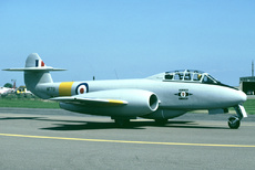 Aircraft Photo of WF791 | Gloster Meteor T7 | UK - Air Force | AirHistory.net