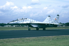 Aircraft Photo of 1303 | Mikoyan-Gurevich MiG-29UB (9-51) | Slovakia - Air Force | AirHistory.net