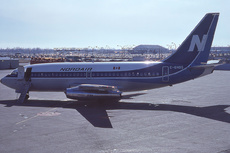 Aircraft Photo of C-GNDG | Boeing 737-2Q9/Adv | Nordair | AirHistory.net #308790