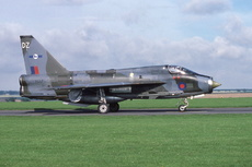 Aircraft Photo of XS417 | English Electric Lightning T5 | UK - Air Force | AirHistory.net