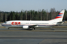 Aircraft Photo of OK-DGN | Boeing 737-45S | CSA - Czech Airlines | AirHistory.net