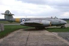 Aircraft Photo of VT229 | Gloster Meteor F4 | UK - Air Force | AirHistory.net