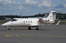Aircraft Photo of D-CWAY | Gates Learjet 55 | AirHistory.net