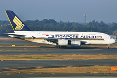 Aircraft Photo of 9V-SKJ | Airbus A380-841 | Singapore Airlines | AirHistory.net