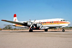 Aircraft Photo of N9734Z | Douglas DC-7C Seven Seas | T & G Aviation | AirHistory.net