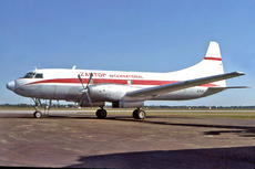 Aircraft Photo of N3410 | Convair 640 | Zantop International Airlines | AirHistory.net #178682