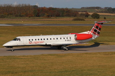 Aircraft Photo of G-SAJT | Embraer ERJ-135ER (EMB-135ER) | Loganair | AirHistory.net