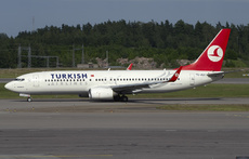 Aircraft Photo of TC-JGY | Boeing 737-8F2 | Turkish Airlines | AirHistory.net #189135