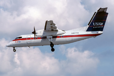 Aircraft Photo of N907HA | De Havilland Canada DHC-8-102 Dash 8 | USAir Express | AirHistory.net