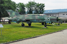Aircraft Photo of 365 | Mikoyan-Gurevich MiG-21bis | Bulgaria - Air Force | AirHistory.net