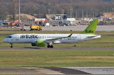 Aircraft Photo of YL-CSE | Bombardier CSeries CS300 (BD-500-1A11) | AirBaltic | AirHistory.net
