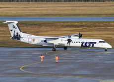 Aircraft Photo of SP-EQK | Bombardier DHC-8-402 | LOT Polish Airlines - Polskie Linie Lotnicze | AirHistory.net