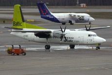 Aircraft Photo of LY-BAZ | Fokker 50 | AirBaltic | AirHistory.net
