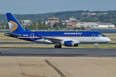 Aircraft Photo of N813MA | Embraer 170SU (ERJ-170-100SU) | Midwest Airlines | AirHistory.net