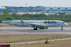 Aircraft Photo of YL-CSH | Bombardier CSeries CS300 (BD-500-1A11) | AirBaltic | AirHistory.net