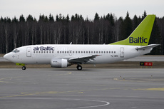 Aircraft Photo of YL-BBQ | Boeing 737-522 | AirBaltic | AirHistory.net