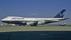 Aircraft Photo of 3C-GFB | Boeing 747-136 | Air Gulf Falcon | AirHistory.net #200150