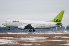 Aircraft Photo of YL-BBR | Boeing 737-31S | AirBaltic | AirHistory.net