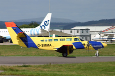 Aircraft Photo of G-SMMA | Reims F406 Caravan II | Scottish Fisheries Protection Agency | AirHistory.net #205070