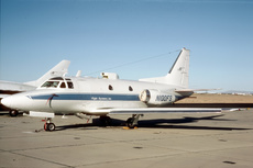 Aircraft Photo of N100FS | North American Rockwell NA-282 Sabreliner 40 | Flight Systems | AirHistory.net #206848