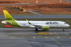 Aircraft Photo of YL-CSA | Bombardier CSeries CS300 (BD-500-1A11) | AirBaltic | AirHistory.net