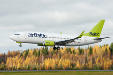 Aircraft Photo of YL-BBX | Boeing 737-36Q | AirBaltic | AirHistory.net