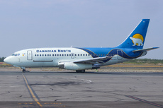 Aircraft Photo of C-GOPW | Boeing 737-275C/Adv | Canadian North | AirHistory.net #217452