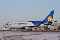Aircraft Photo of C-GCNO | Boeing 737-25A/Adv | Canadian North | AirHistory.net #218768