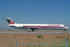 Aircraft Photo of N931TW | McDonnell Douglas MD-83 (DC-9-83) | Trans World Airlines - TWA | AirHistory.net #225189