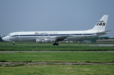 Aircraft Photo of G-BDDE | Douglas DC-8-54CF Jet Trader | IAS Cargo Airlines - International Aviation Services | AirHistory.net #225392
